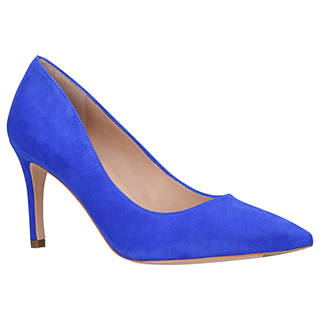 blue shoes